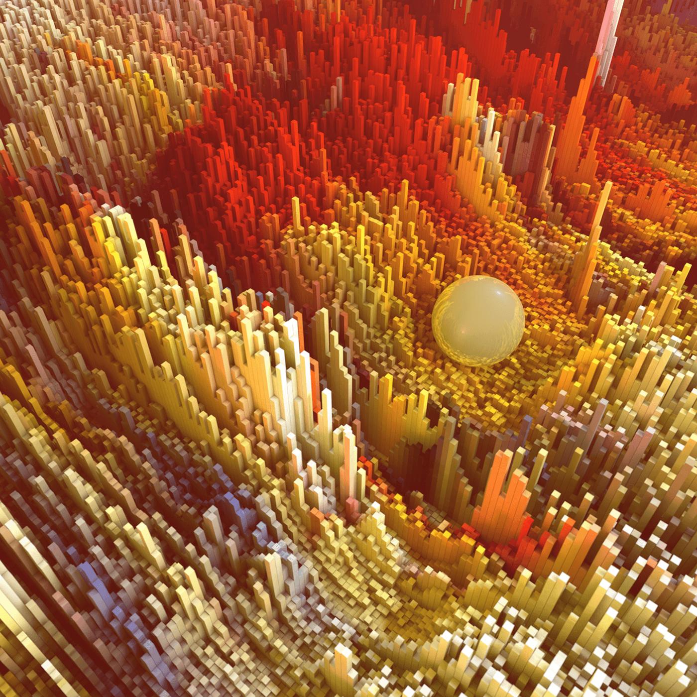 3d Pixelen