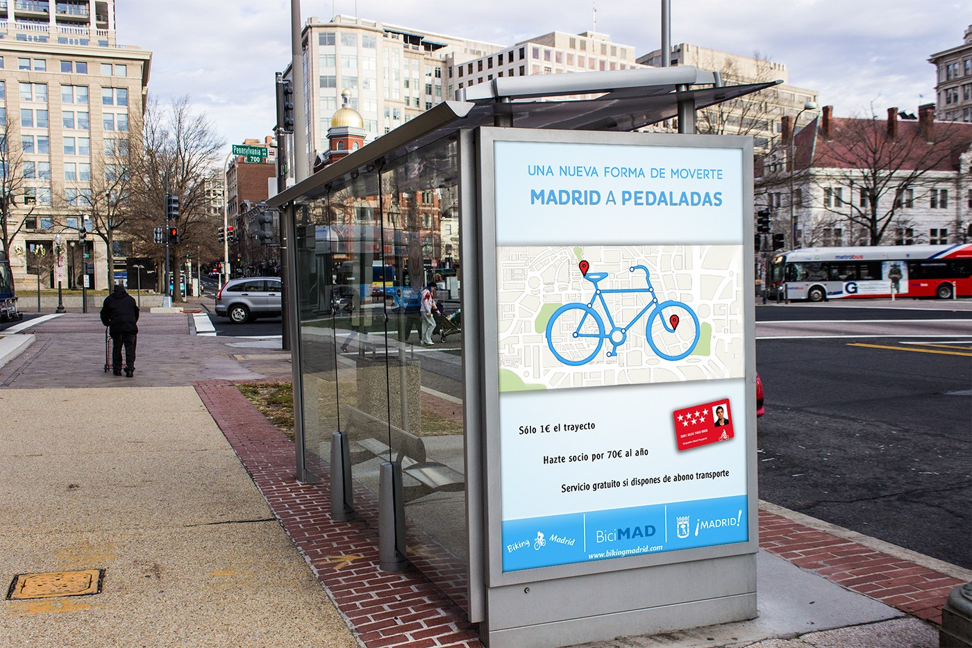 Biking Madrid