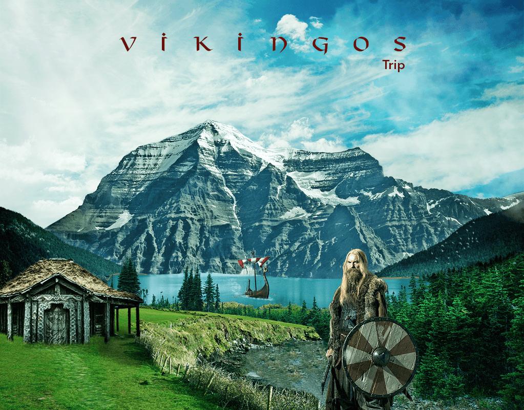 Matte Painting Vikingos