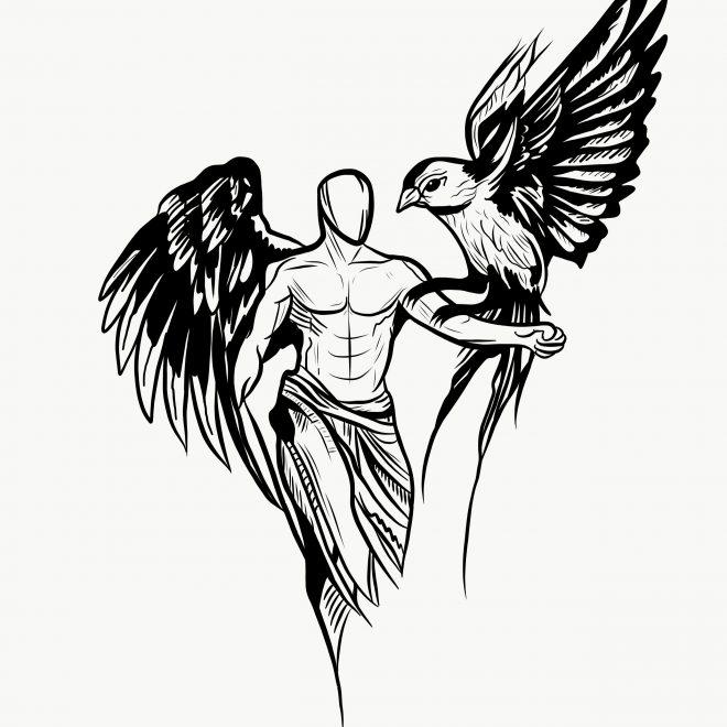 Boceto ANGELS